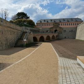 Citadelle Petersberg Erfurt, Thüringen