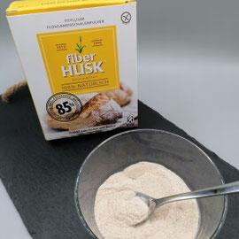 glutenfreie Flohsamenschalen fiberHusk