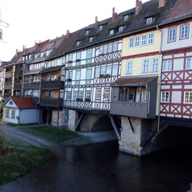 Krämerbrücke, Erfurt, Thüringen