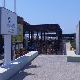 Strandbar, Monachus Hotel & Spa, Side Türkische Riviera