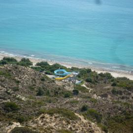 Hotel Blue Lagoon Village, Blick von oben