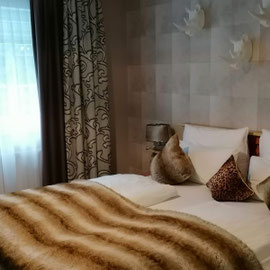 Afrika Zimmer im Block Hotel&Living, Ingolstadt