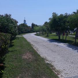 Strandpromenade, Monachus Hotel & Spa, Side Türkische Riviera