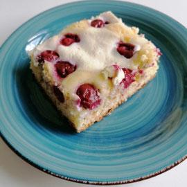 Quark-Kirsch-Kuchen glutenfrei
