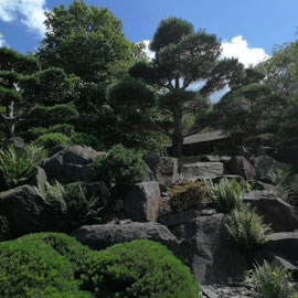 EGA Park Erfurt, Thüringen, Japanischer Garten