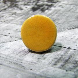 bague jaune en céramique