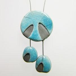 Fiche produit du collier colombe bleu