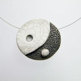 fiche descriptive collier céramique artisanat français