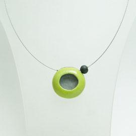 acheter le collier cratère vert