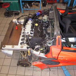 Lotus Elise Motorenumbau