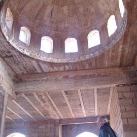 Coupôle de la maison d'hôtes de Marrakech