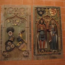 Grab Johann von Holzhausen mit Frau (1393+1371)
