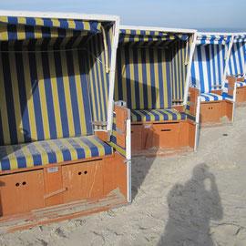 Strandkörbe in Wangerooge
