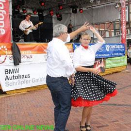 Sabine und Jürgen Stadtfest Barsinghausen 2014