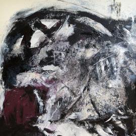 Acryl auf Leinwand, 100 cm x 100cm