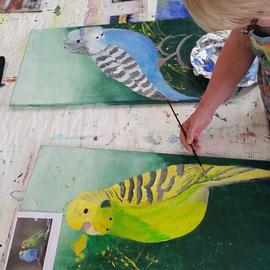 Malen für den Zoo Osnabrück