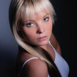 Modell und Make-Up: Stefanie