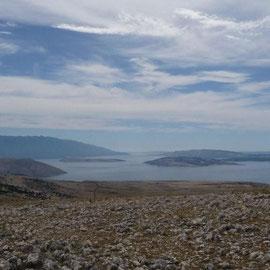 Blick vom Veli Hlam nach Süden