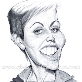 Caricature Dolores O'riordan