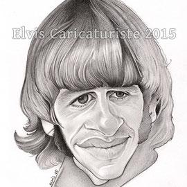 Caricature Ringo Star