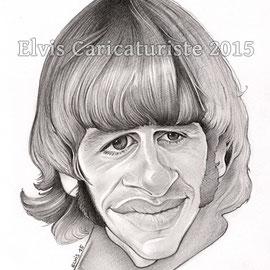 Caricature Ringo Star