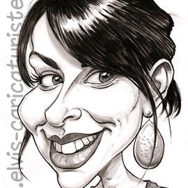 Caricature elvis caricaturiste