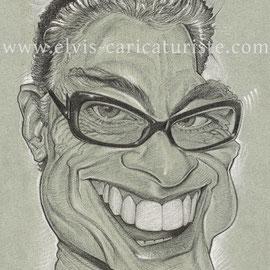 Caricature Van Damme