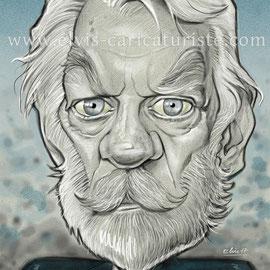 Caricature Sutherland