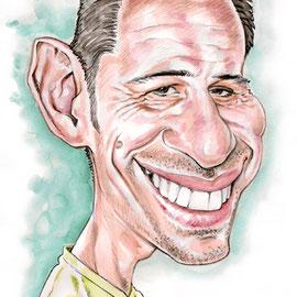 Caricature drôle portrait