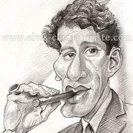 Caricature James Wood
