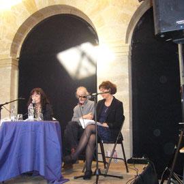 Présentation du Triptyque de l'aube à la Halle des Chartrons, Bordeaux 2014
