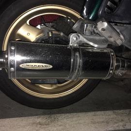 Honda pan-européan 1100 : échappement DELKEVIC