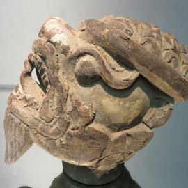 garuda le protecteur, bois sculpté Birmanie...GARUDA PROTETOR CARVED WOOD BURMA ref 7468/2