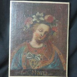 1676 maria  ecole cuzco XVIIIe