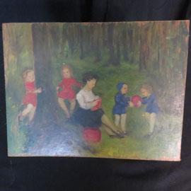 1506 h/t enfants au bois