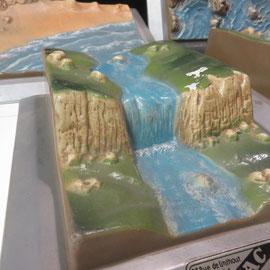 erosions plaques 3d ref 8264