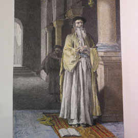 1442 bible de Biva gravures rehaussees