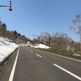 オロフレ峠(5月GW)