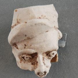 Fragment gevonden in laat 19e eeuwse stort, Leiderdorp.