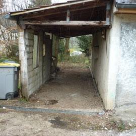 débarras d'un garage à Gray, Haute Saône, 70, APRÈS INTERVENTION....... entreprise de déblaiement-débarras AHLEN