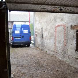 débarras d'un garage à Besançon, doubs, 25, APRÈS INTERVENTION....... entreprise AHLEN