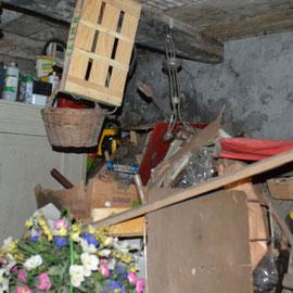 débarras d'une cave à Besançon, doubs, 25, AVANT INTERVENTION....... entreprise AHLEN