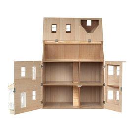 Maison de poupée en bois (intérieur)