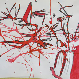 Aleatorisches Verfahren - Tinte