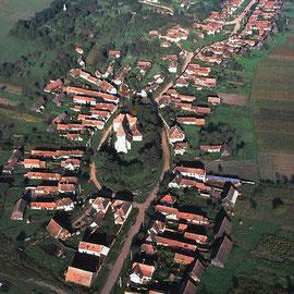 Luftbildaufnahmen von Georg Gerster. Quelle: Archiv des Siebenbürgen-Instituts Gundelsheim.