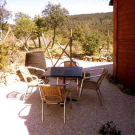 jardin gite corbières
