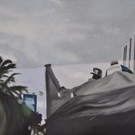 es ist noch nicht soweit, oil on canvas, 120 x 80 cm, 2014