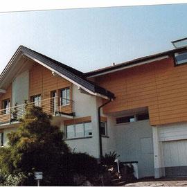 Fassadensanierung Fritz Bruhin Objektbearbeitung Dani Vogt D. Vogt Holzbau GmbH CH 8855 Wangen SZ