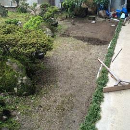 防草土施工2