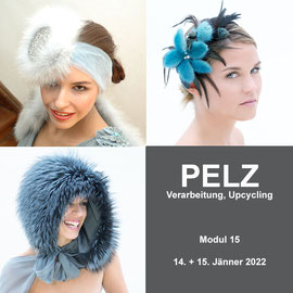 Modul 15 - PELZ - Christine Rohr Academy of Millinery and Textile Arts